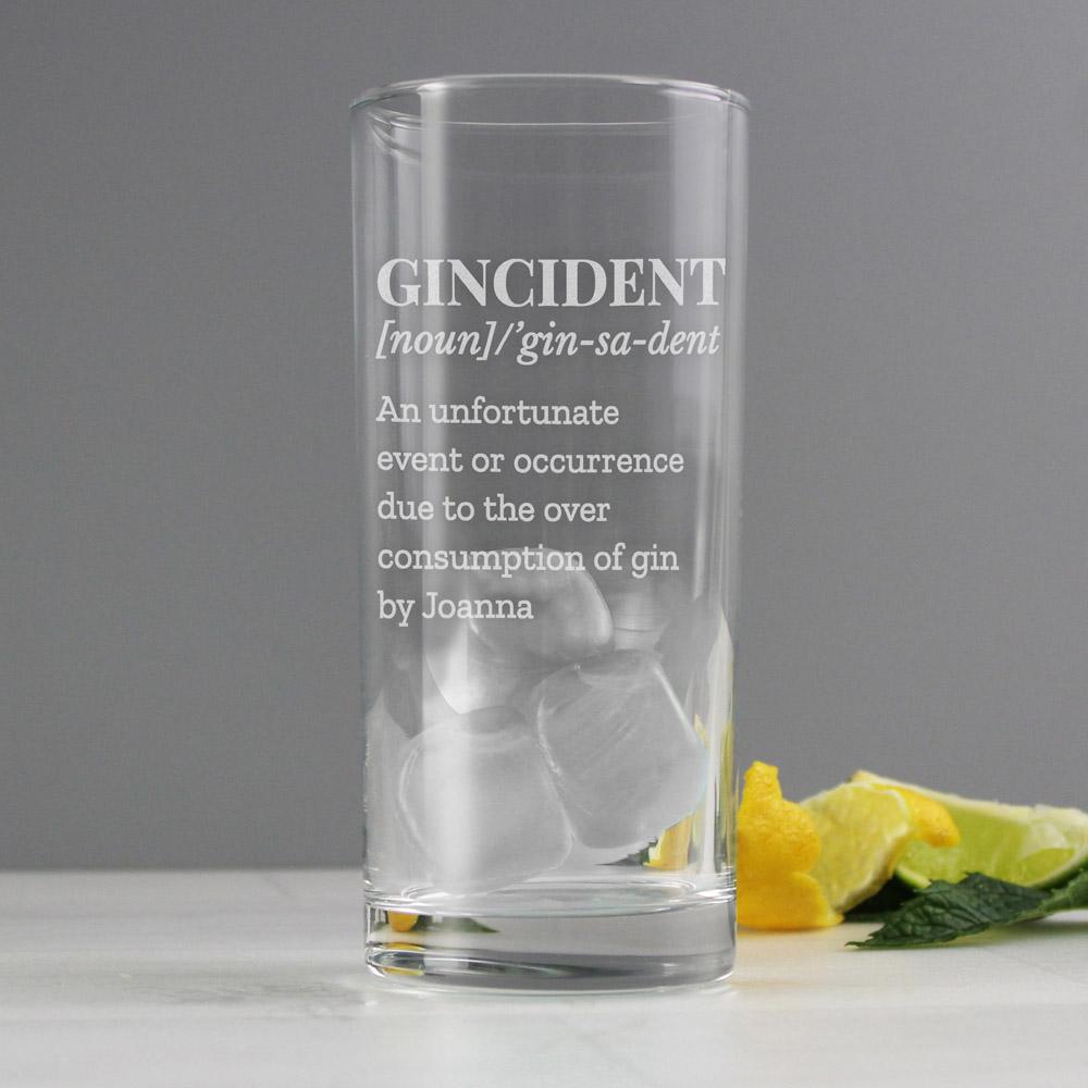 Gincident Hi Ball Glass