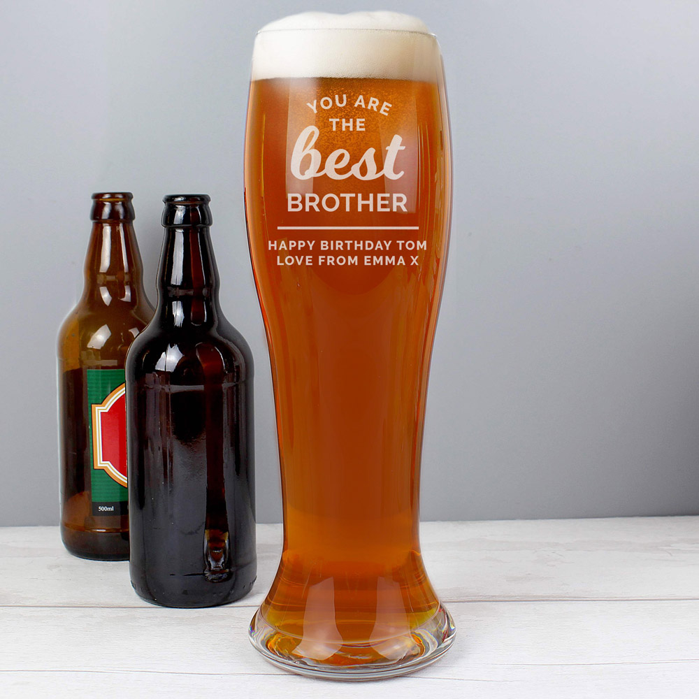 You are the Best' Giant Beer Glass