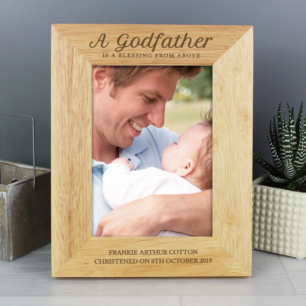 Godfather 7x5 Wooden Photo Frame