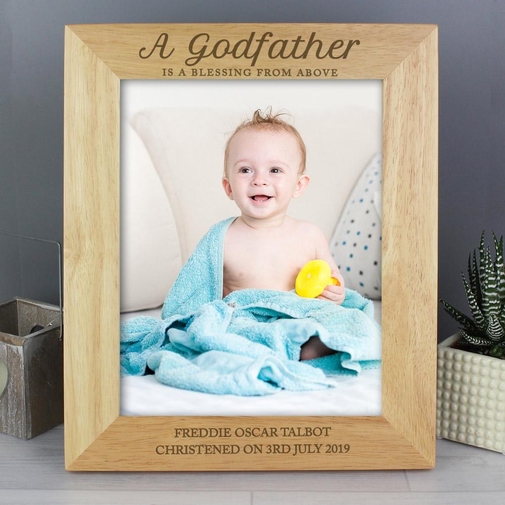 Godfather 10x8 Wooden Photo Frame