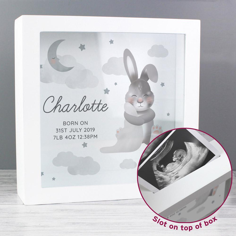 Baby Bunny Memory Keepsake Box