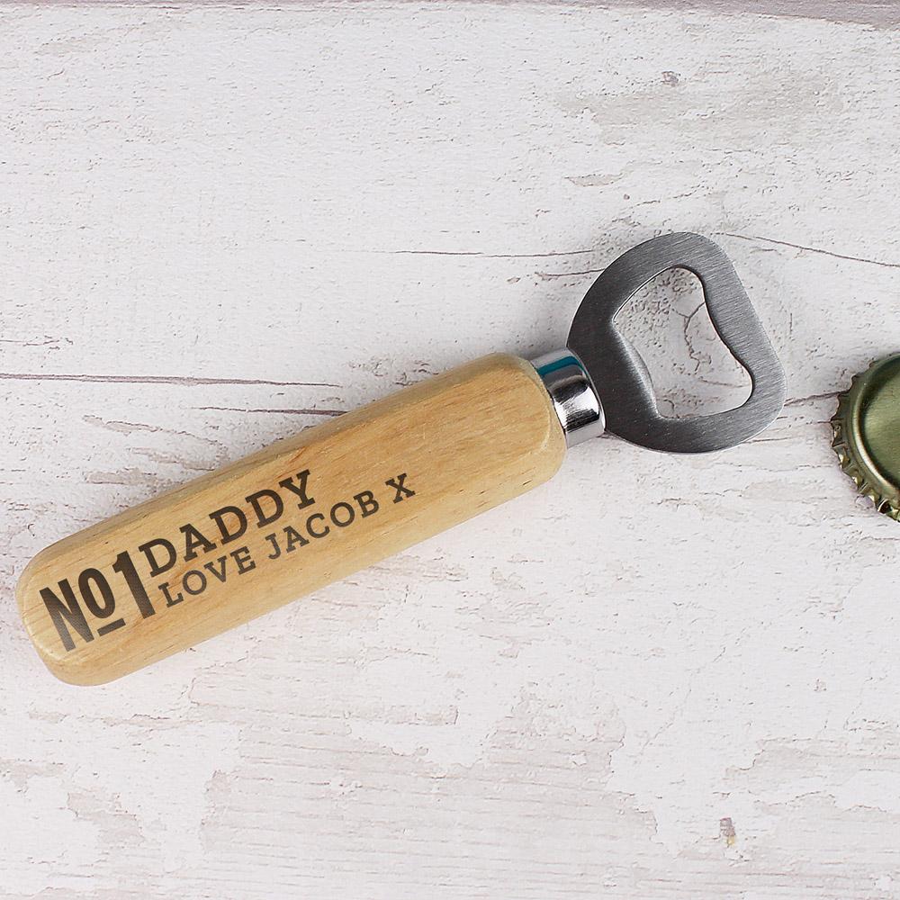 No.1 Wooden Bottle Opener