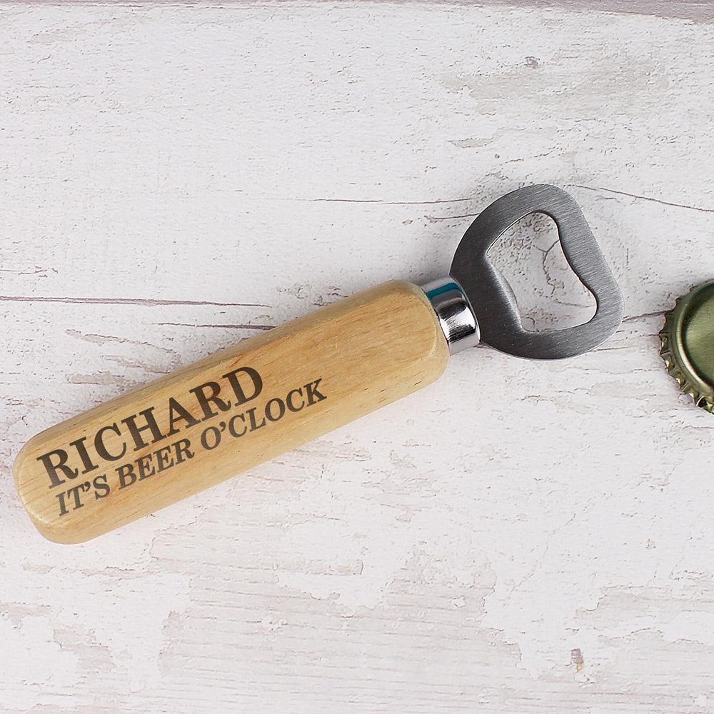 Wooden Bottle Opener
