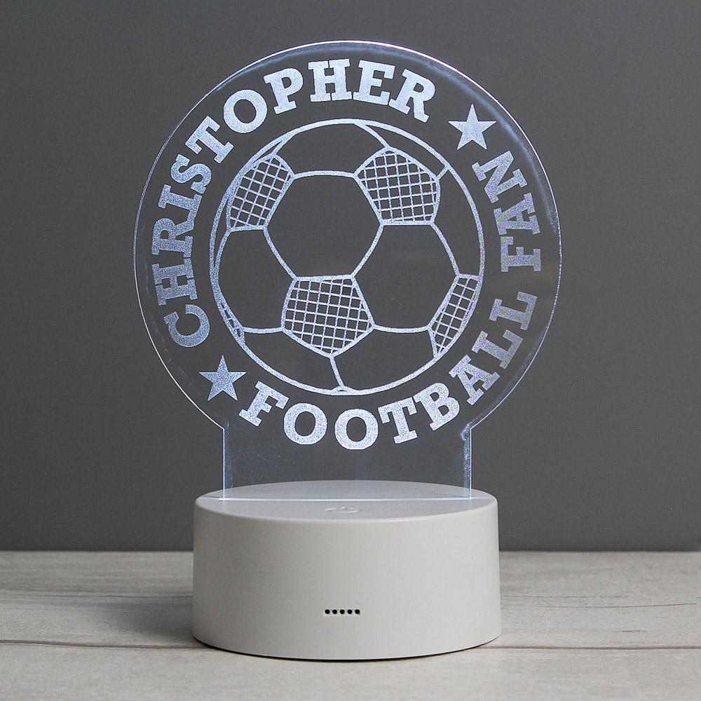Football LED Colour Changing Desk Night Light