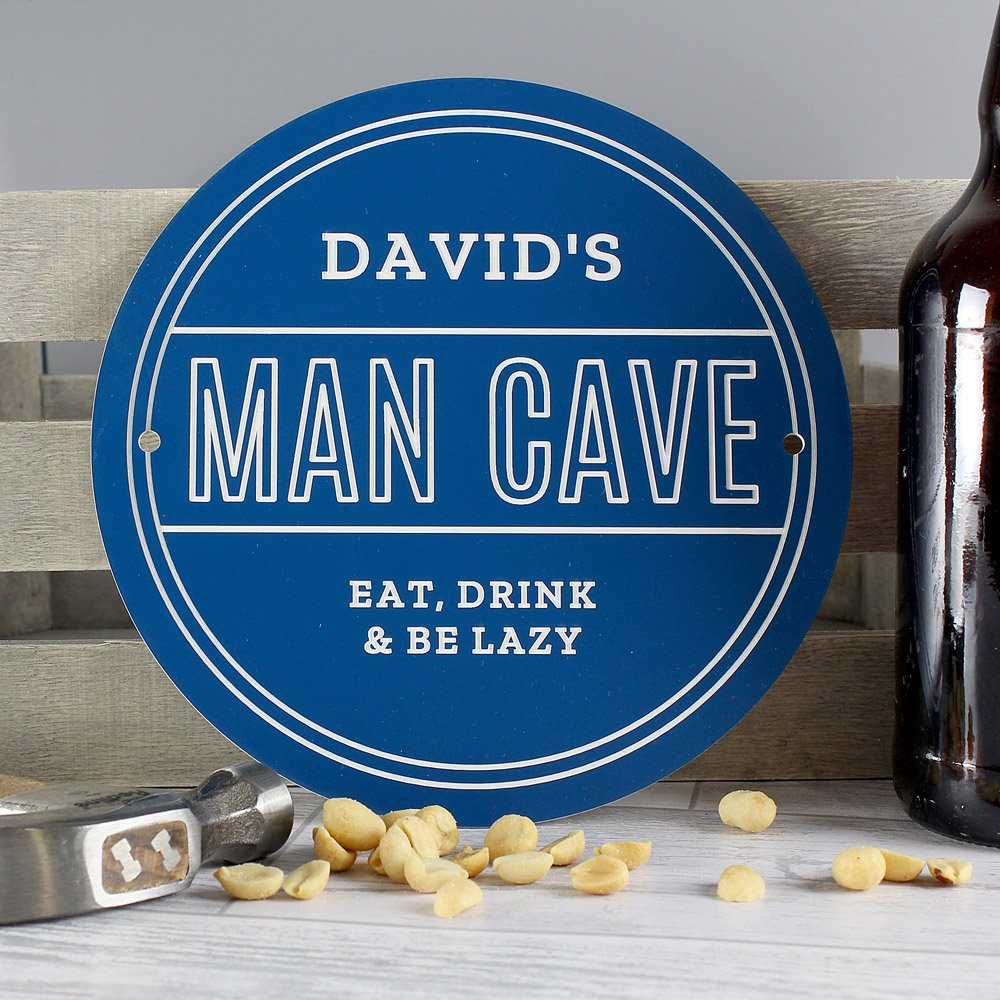 Man Cave Heritage Plaque