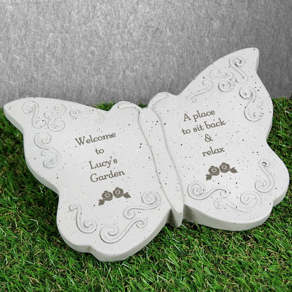 Floral Butterfly Ornament