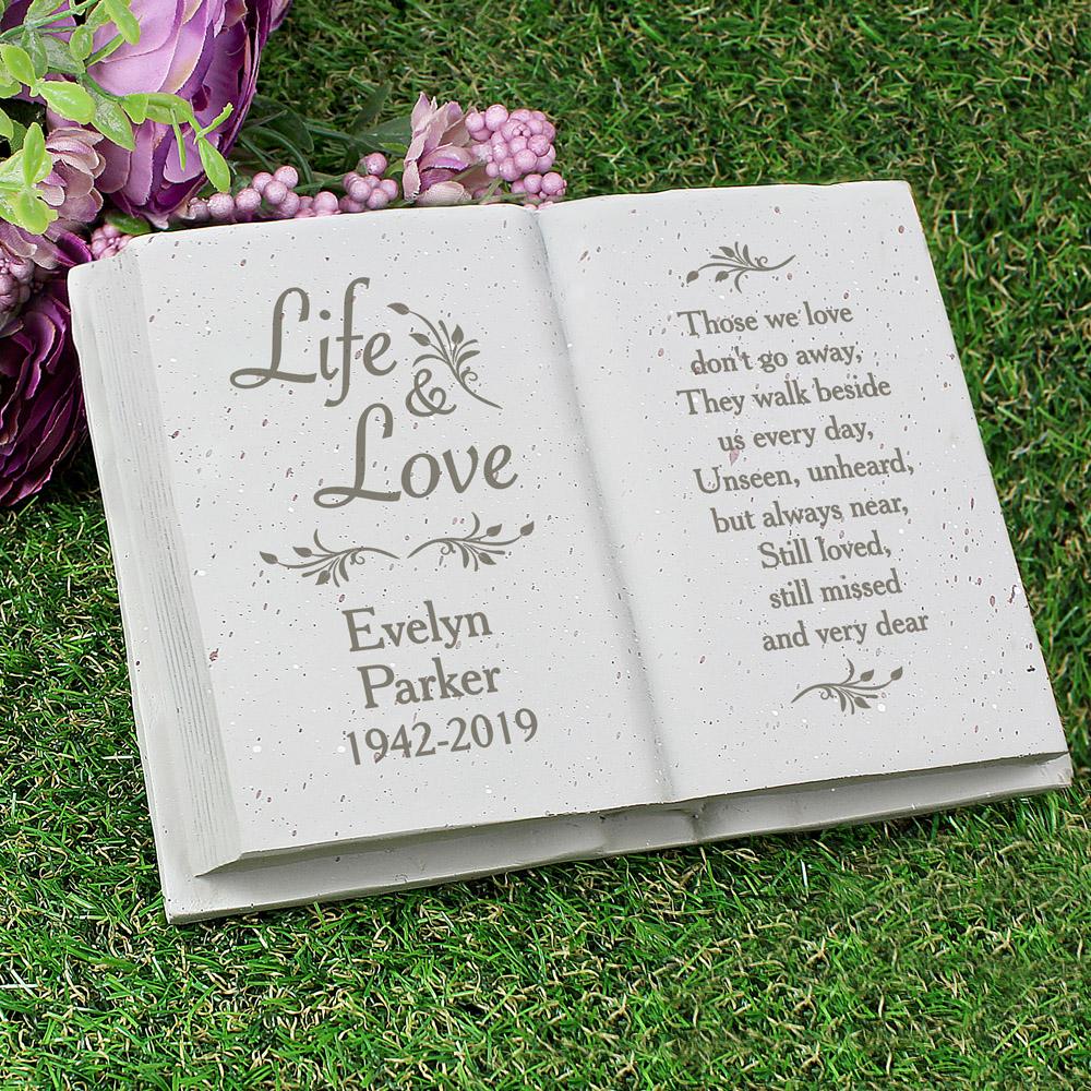 Life & Love Memorial Book