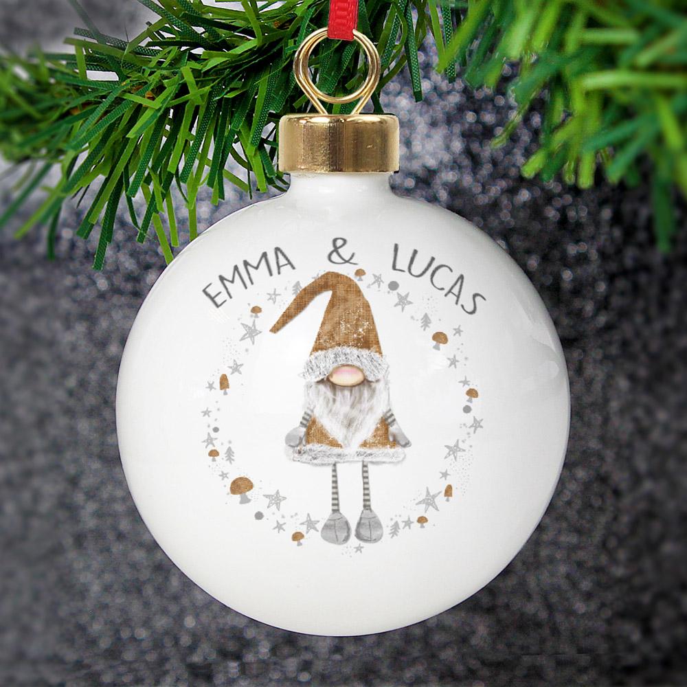 Scandinavian Christmas Gnome Bauble