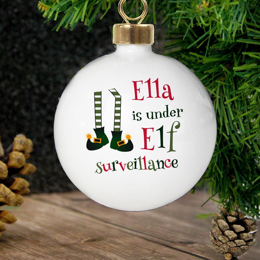 Elf Surveillance Bauble