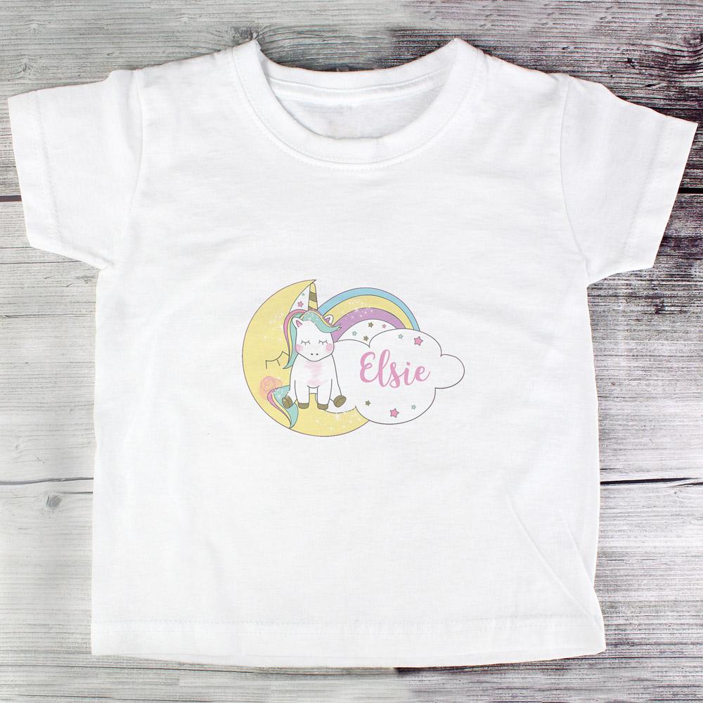 Baby Unicorn T shirt 3-4 Years