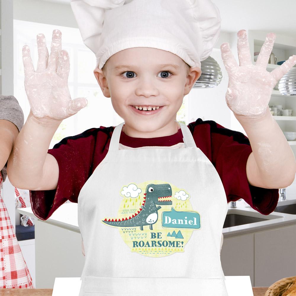 Dinosaur Children's Apron