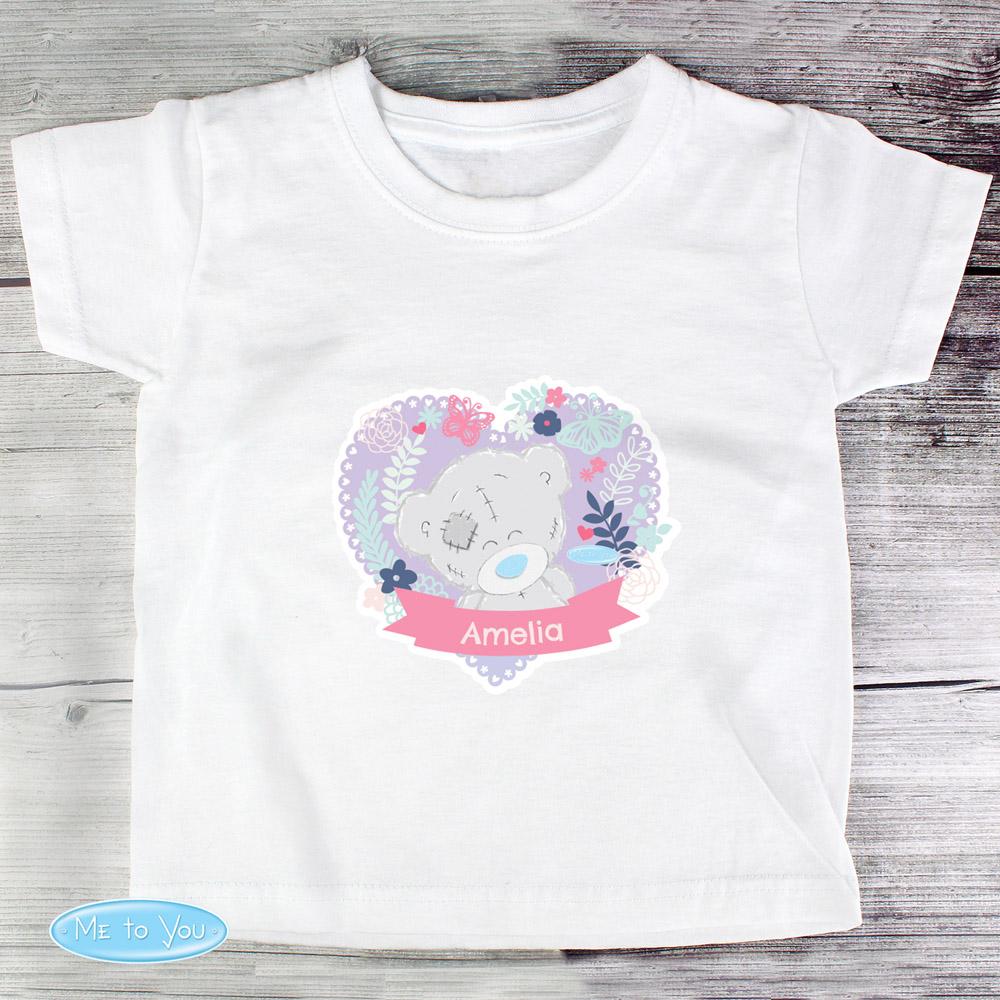 Tiny Tatty Teddy Girl's T-shirt 3-4 Years