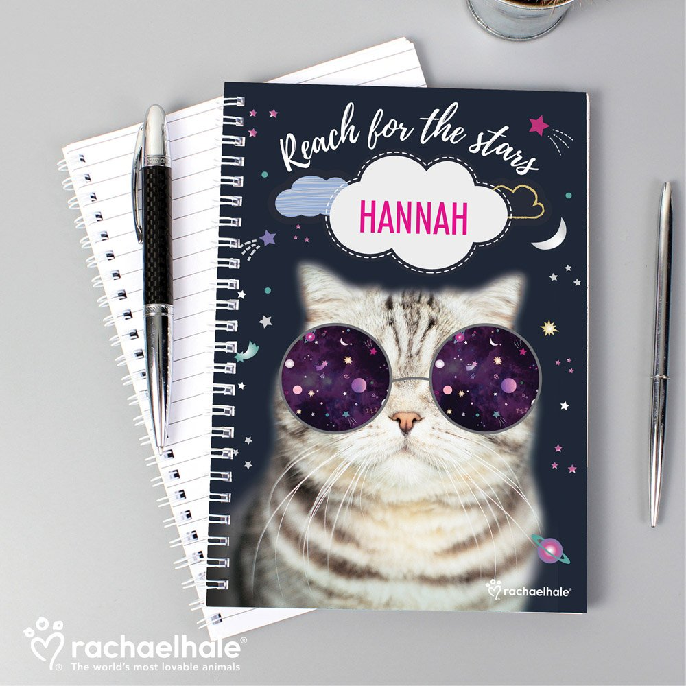 Rachael Hale Space Cat A5 Notebook