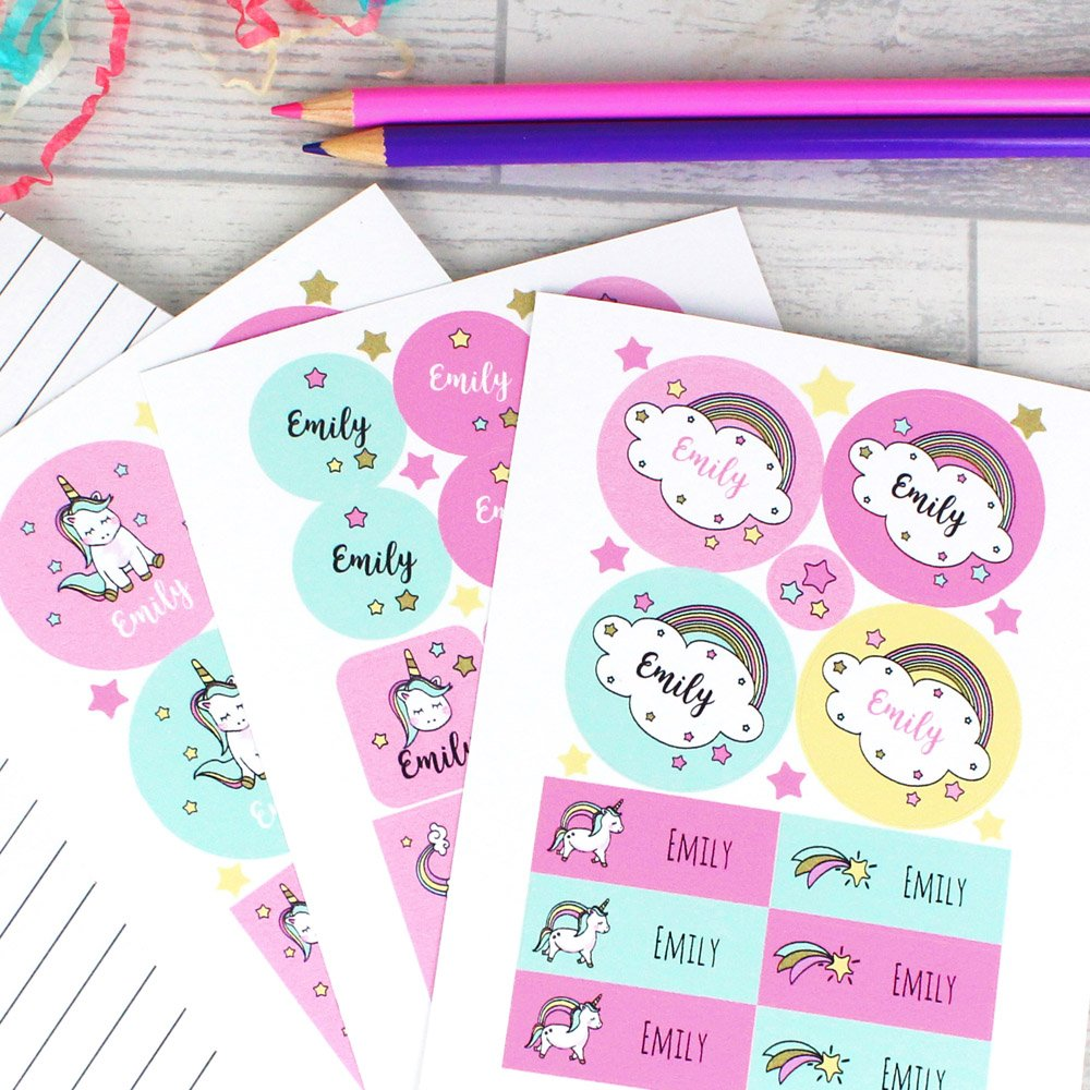 Baby Unicorn Sticker Set