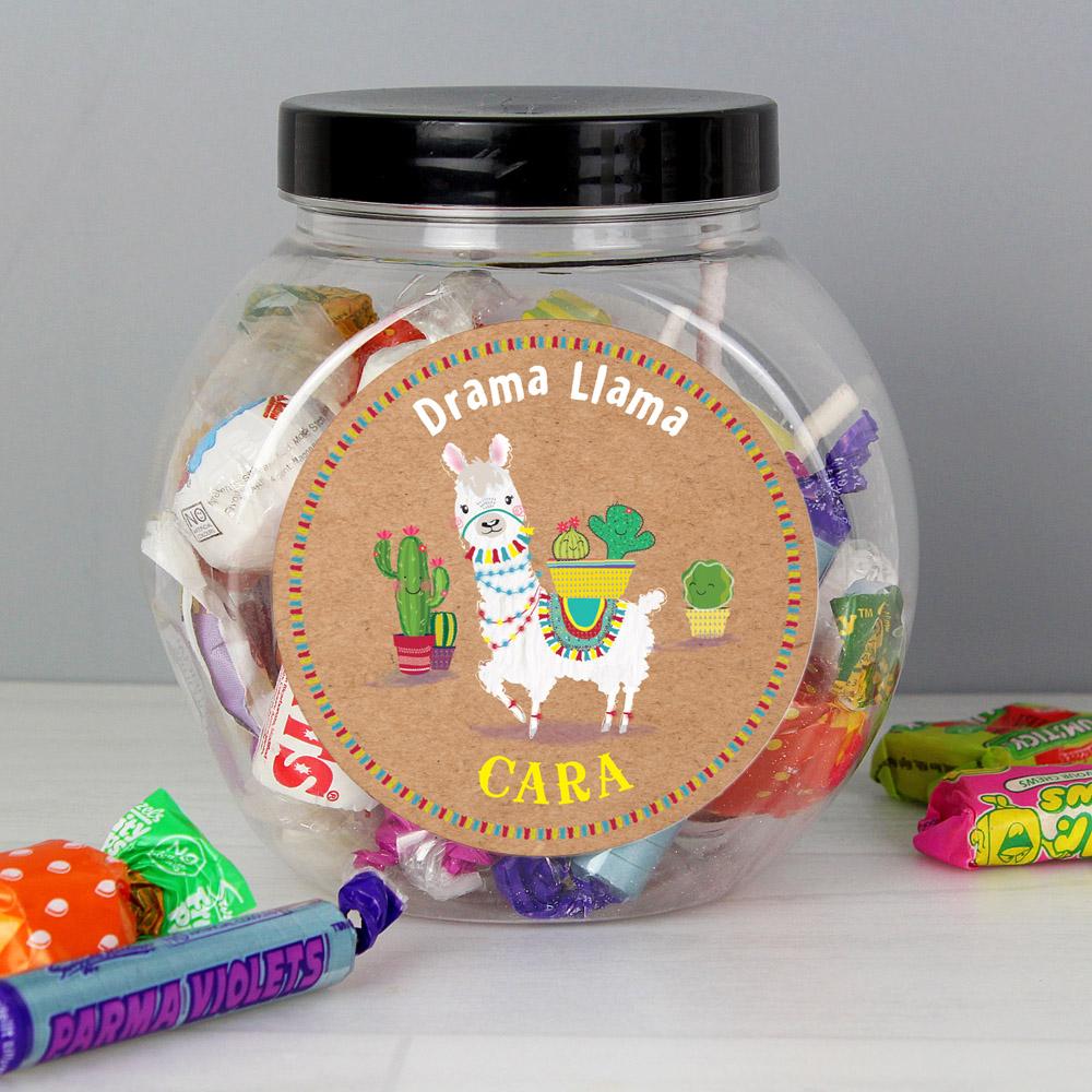 Llama Sweet Jar
