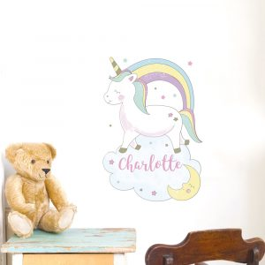 Baby Unicorn Wall Art