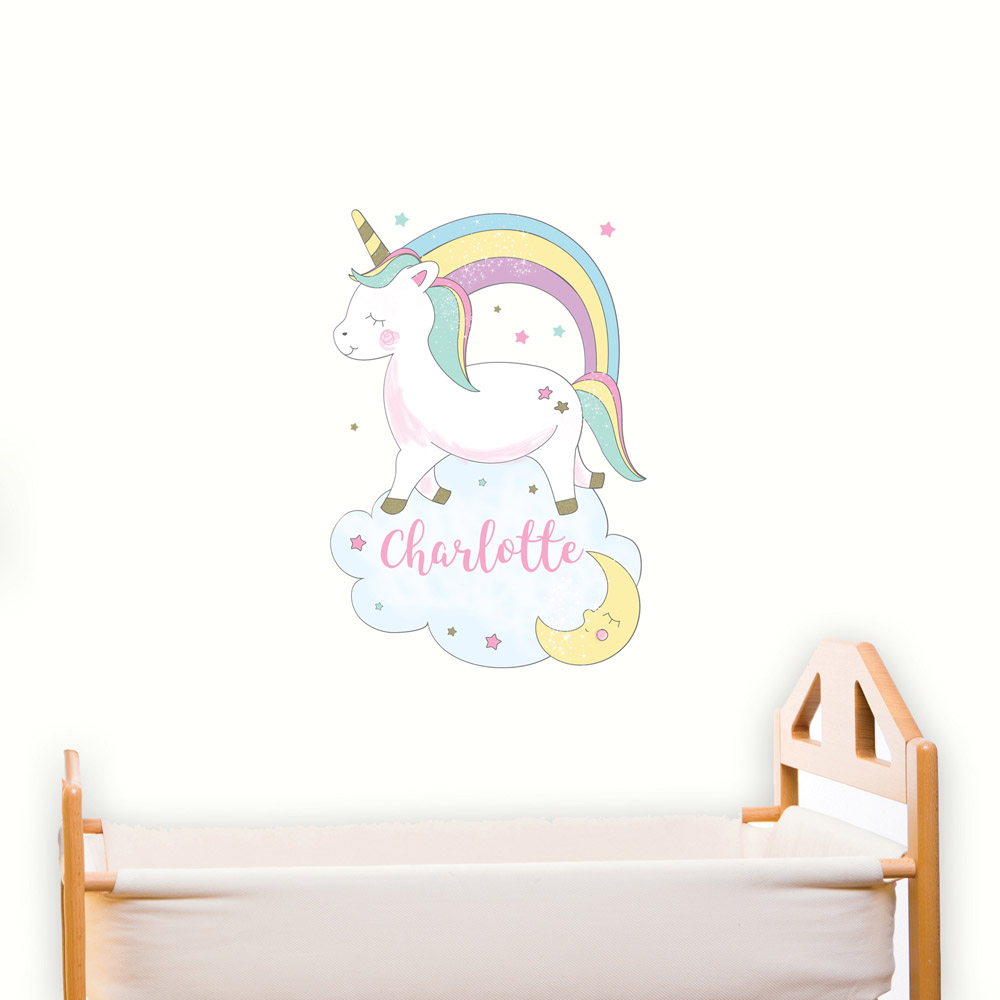 Baby Unicorn Wall Art