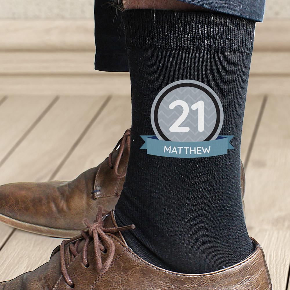 Birthday Men's Socks