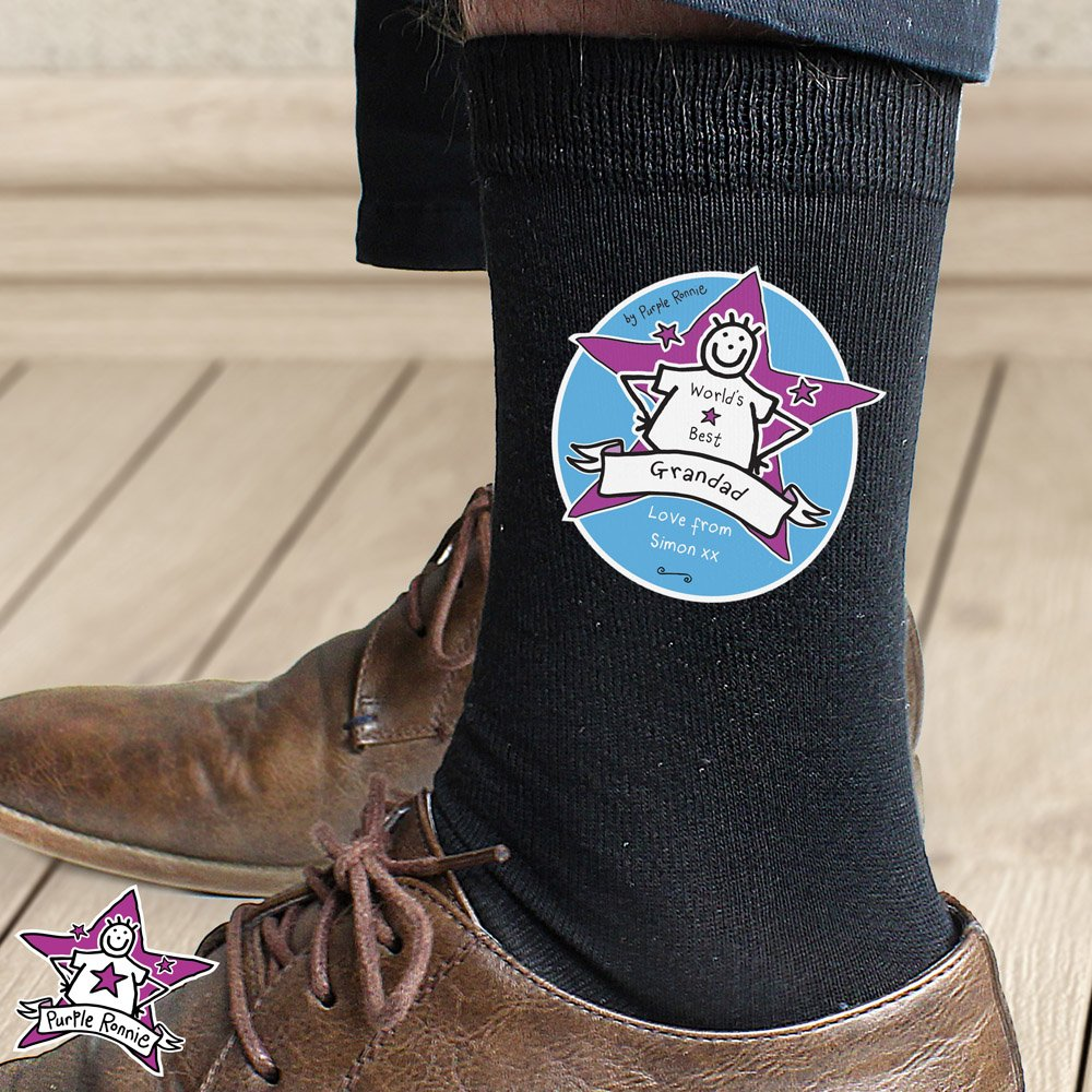 Purple Ronnie Men's Socks