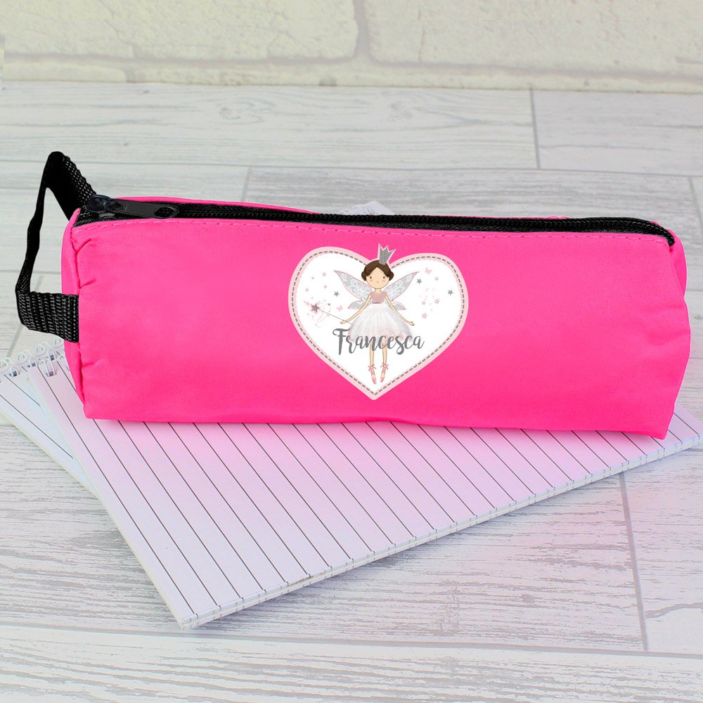 Fairy Princess Pink Pencil Case