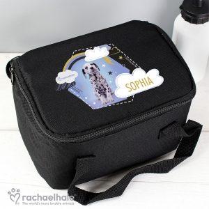 Rachael Hale Dalmatian Black Lunch Bag