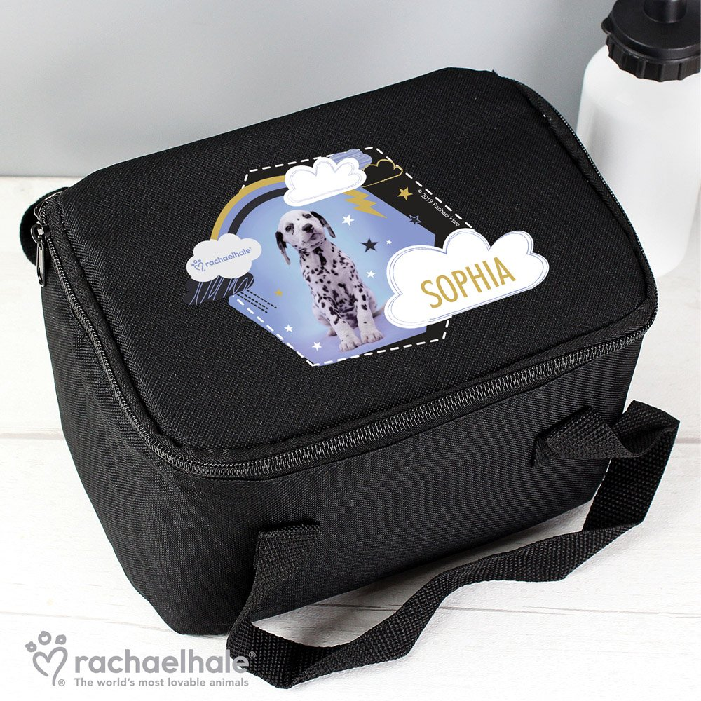 Rachael Hale Dalmatian Black Lunch Bag