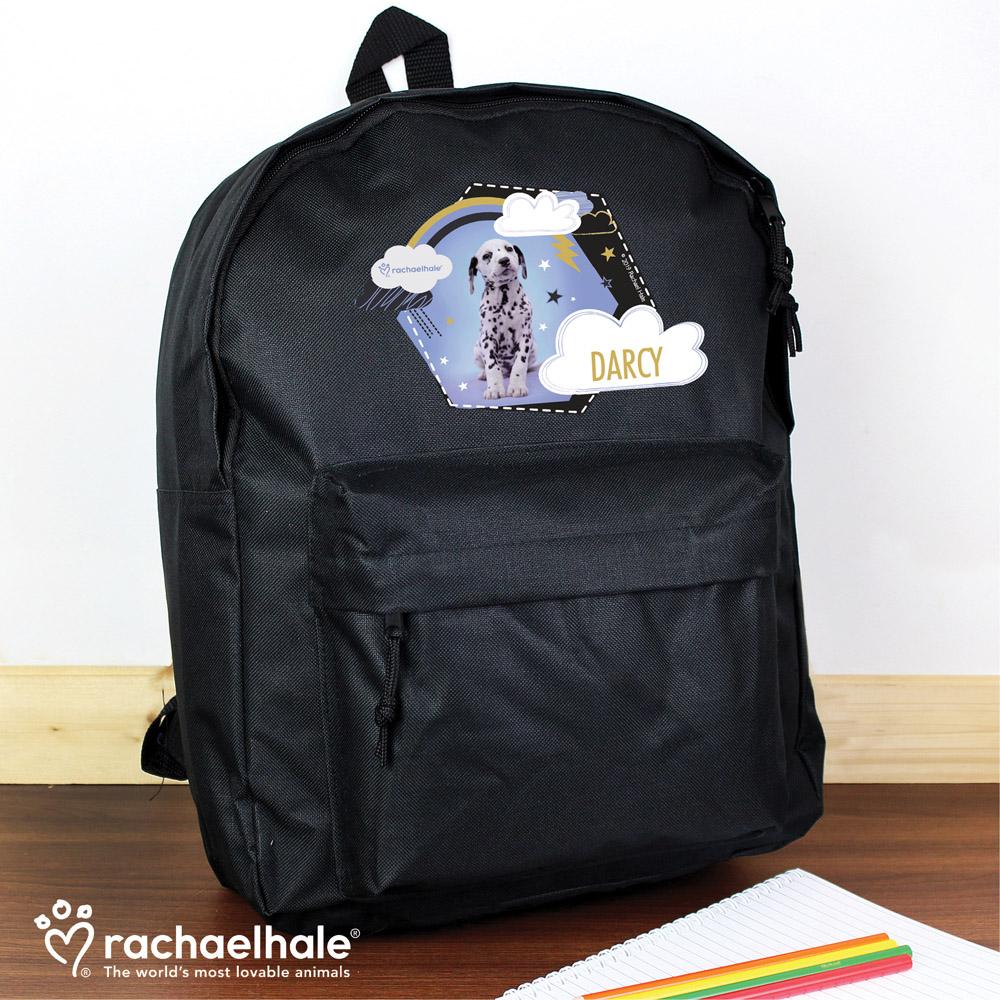 Rachael Hale Dalmatian Black Backpack