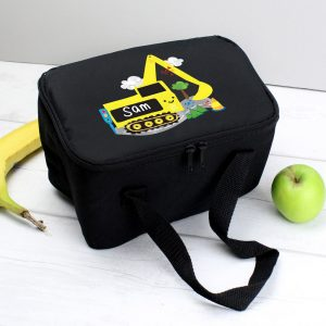 Digger Black Lunch Bag