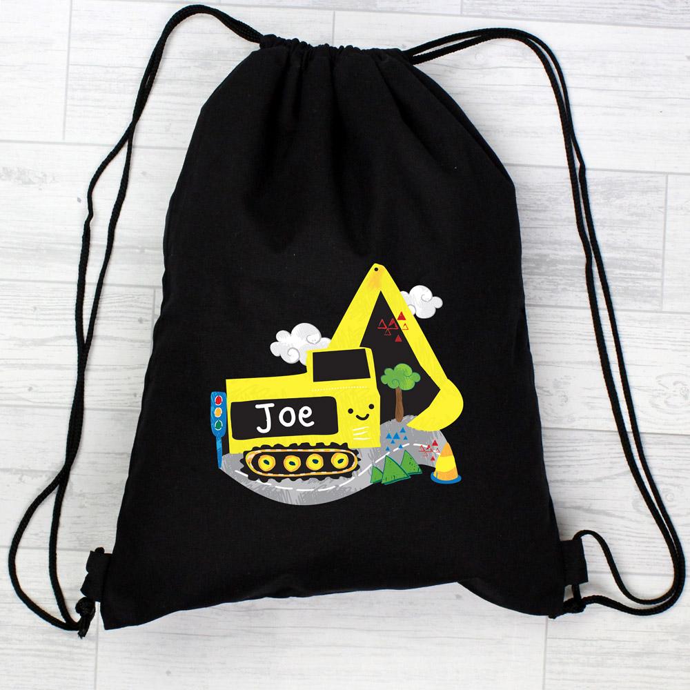 Digger Black Swim & Kit Bag