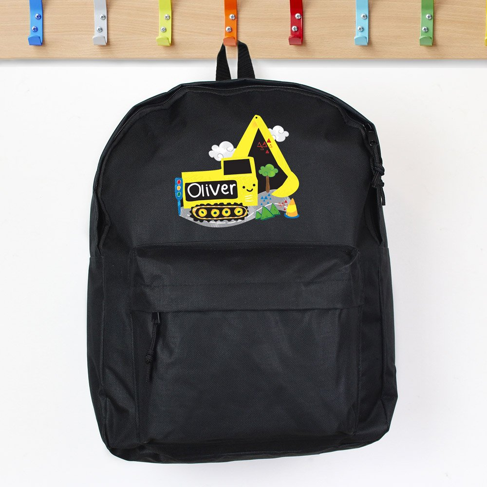 Digger Black Backpack
