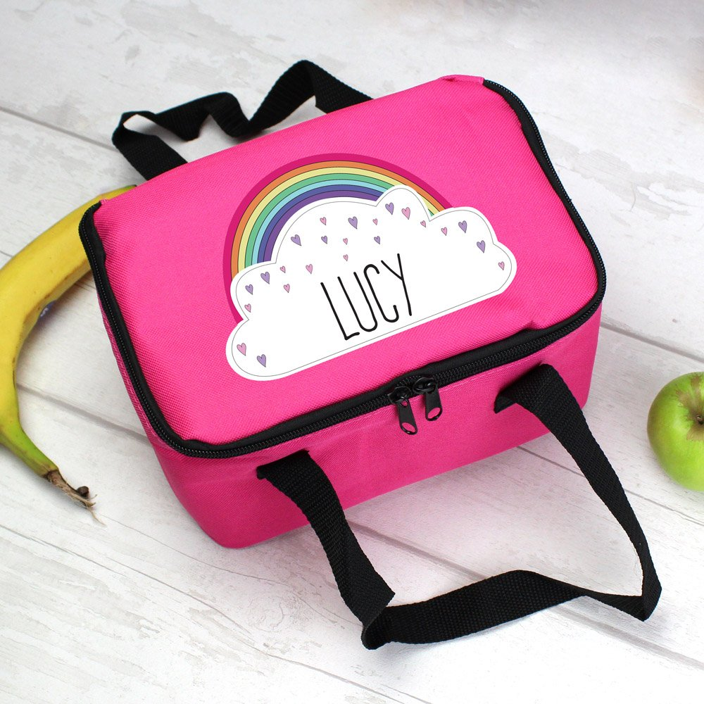 Rainbow Pink Lunch Bag
