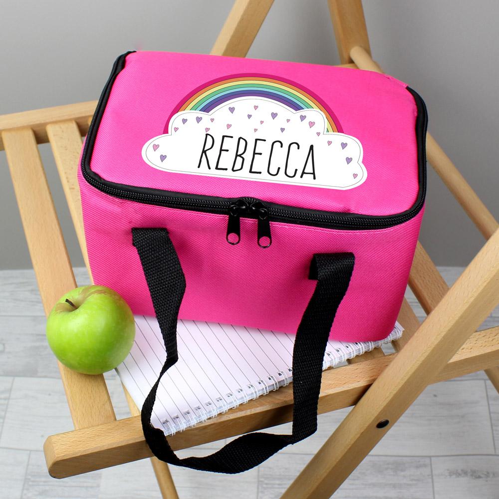 Rainbow Pink Lunch Bag