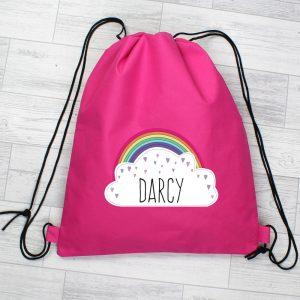 Rainbow Pink Swim & Kit Bag