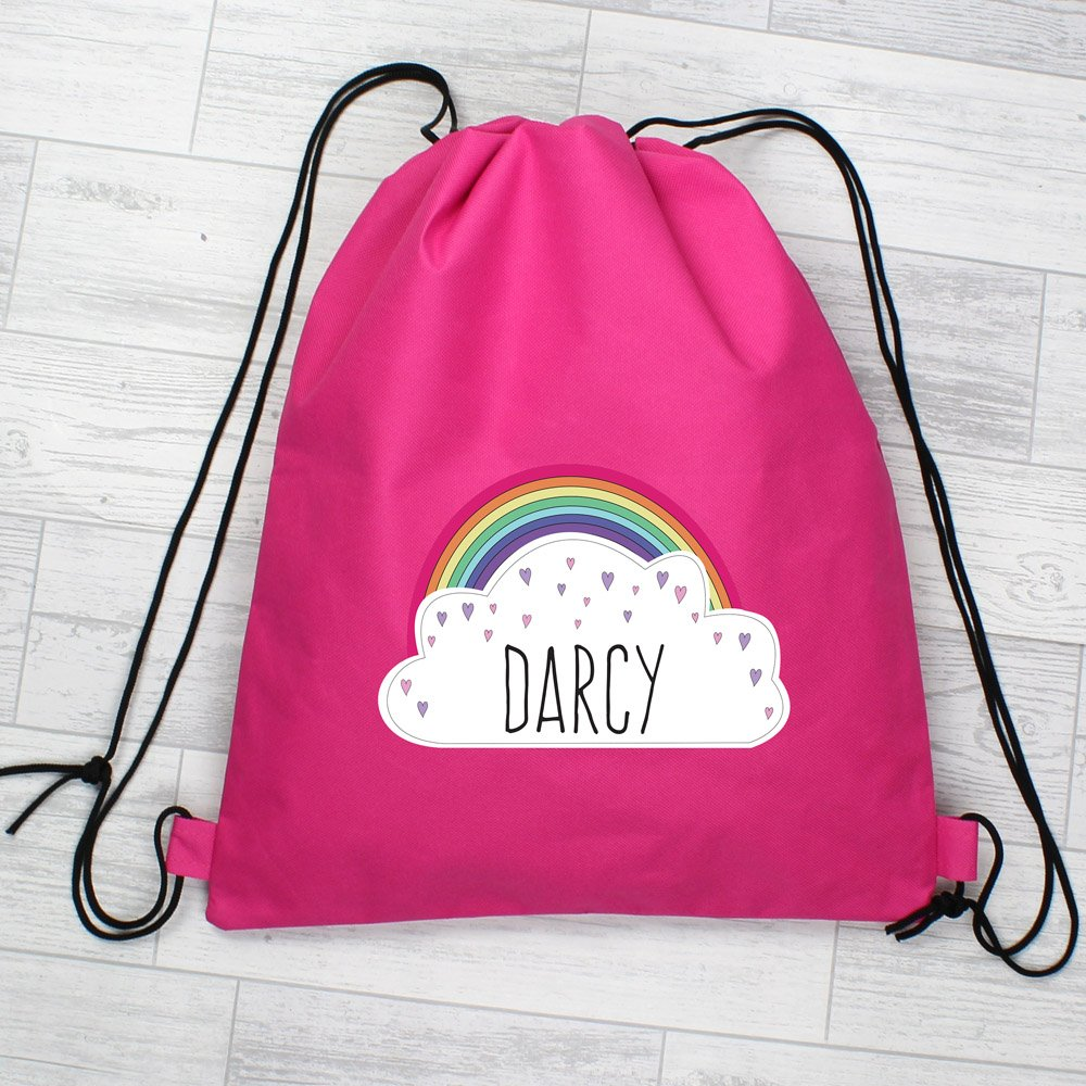 Rainbow Pink Swim & Kit Bag