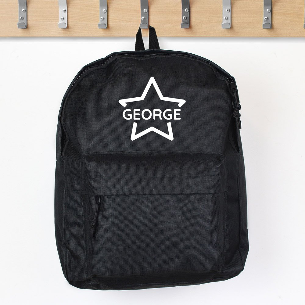 Star Black Backpack