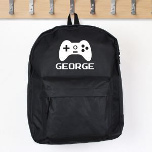 Gaming Black Backpack