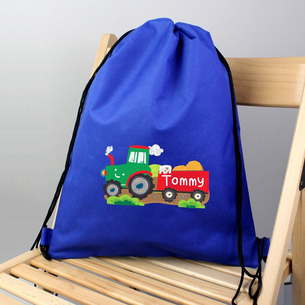 Tractor Blue Swim & Kit Bag