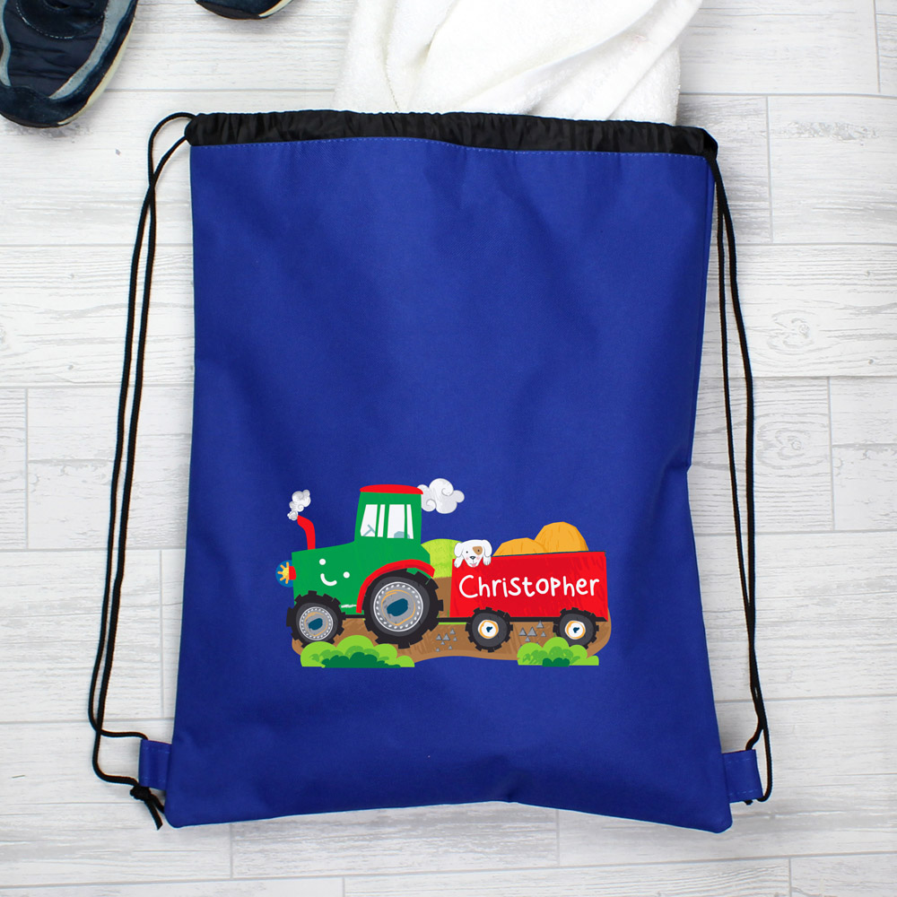 Tractor Blue Swim & Kit Bag