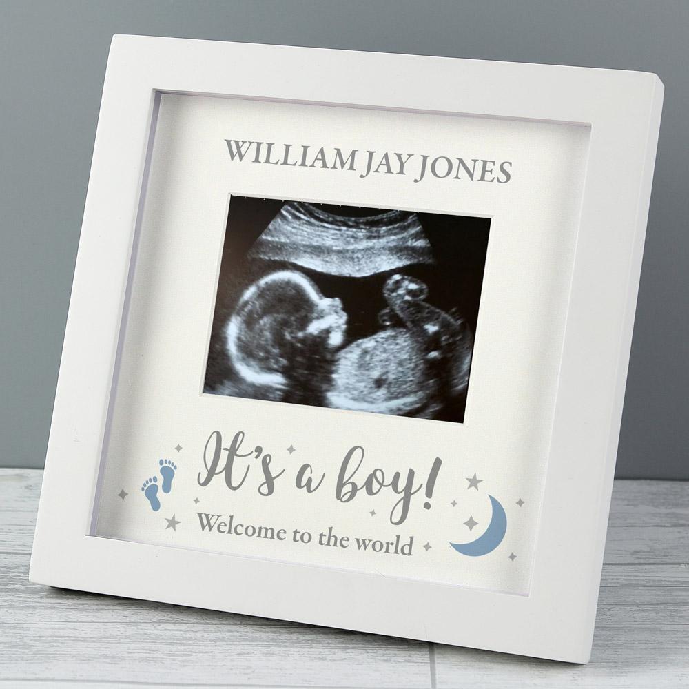 It's A Boy' Baby Scan Frame