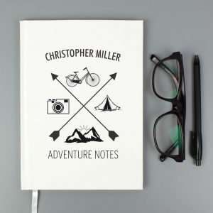 Adventure Hardback A5 Notebook