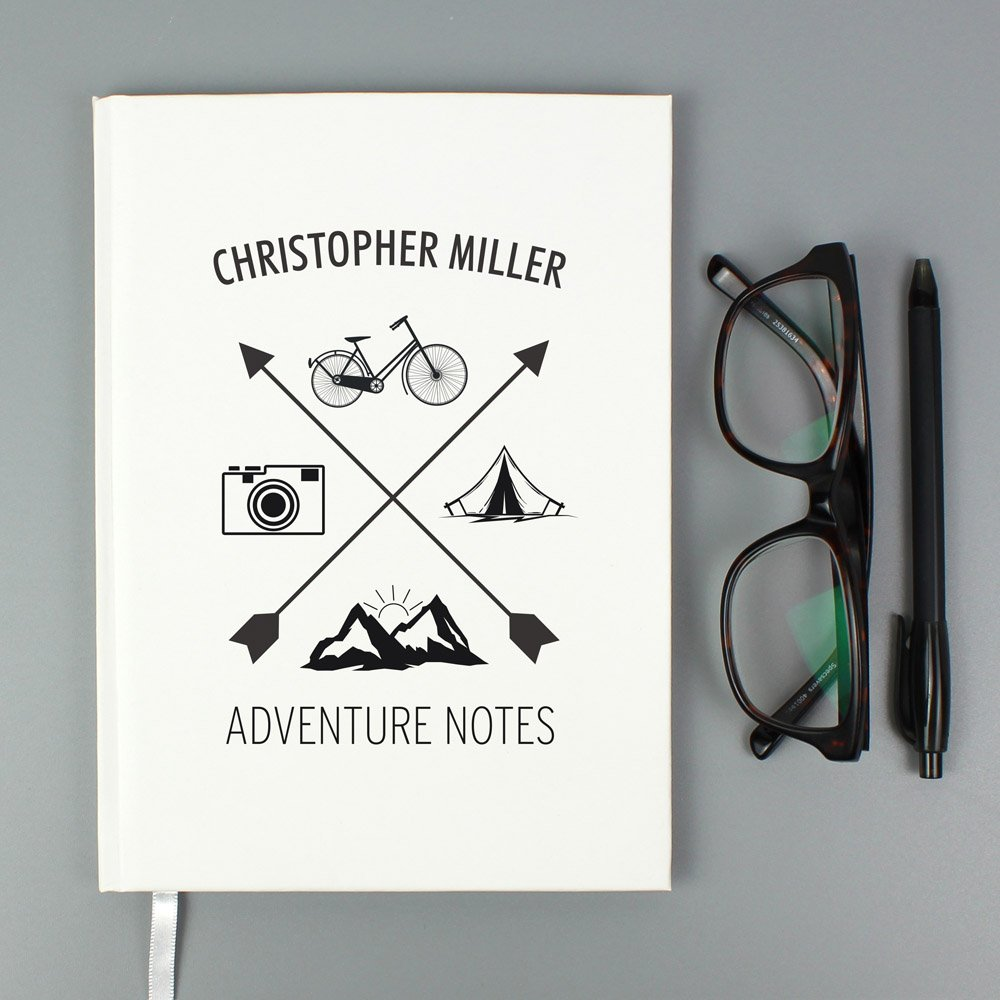 Adventure Hardback A5 Notebook