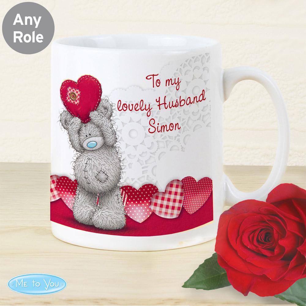 Me To You Heart Mug