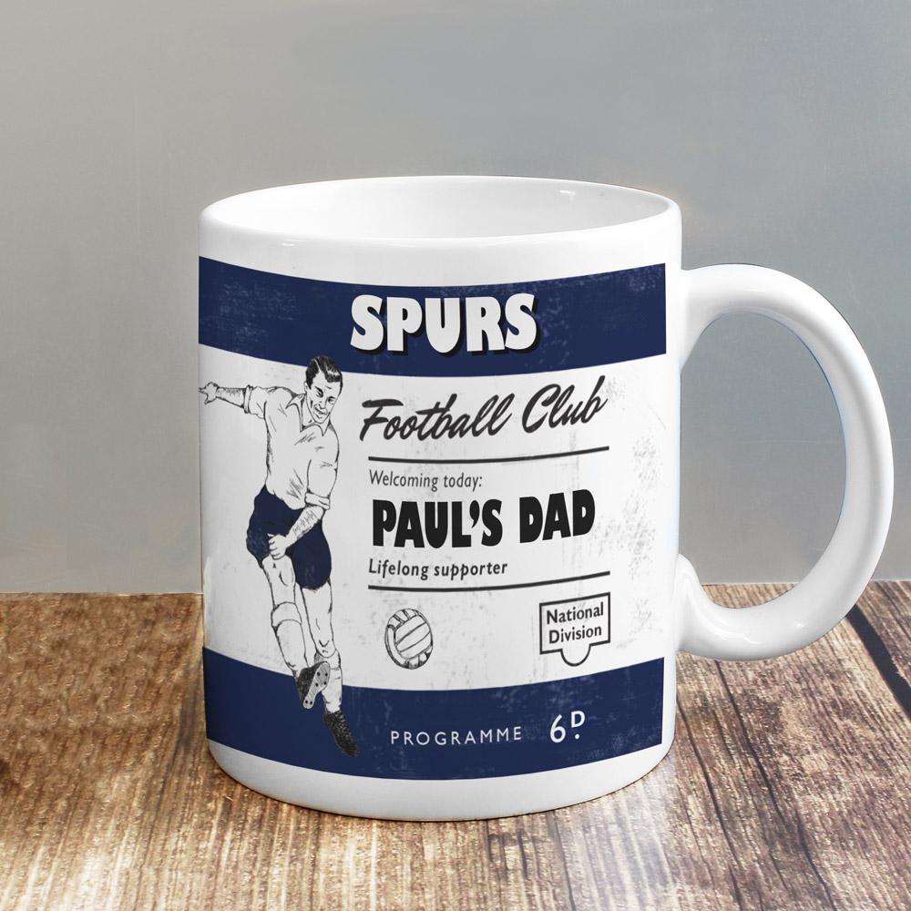 Vintage Football Navy Supporter's Mug