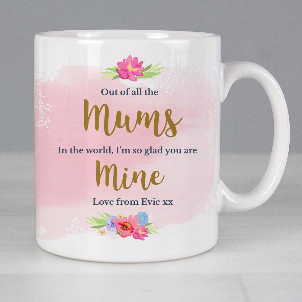 Floral Watercolour Mug