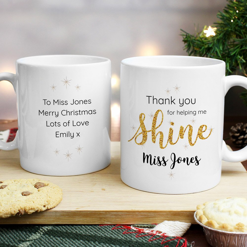 Shine Teacher Mug