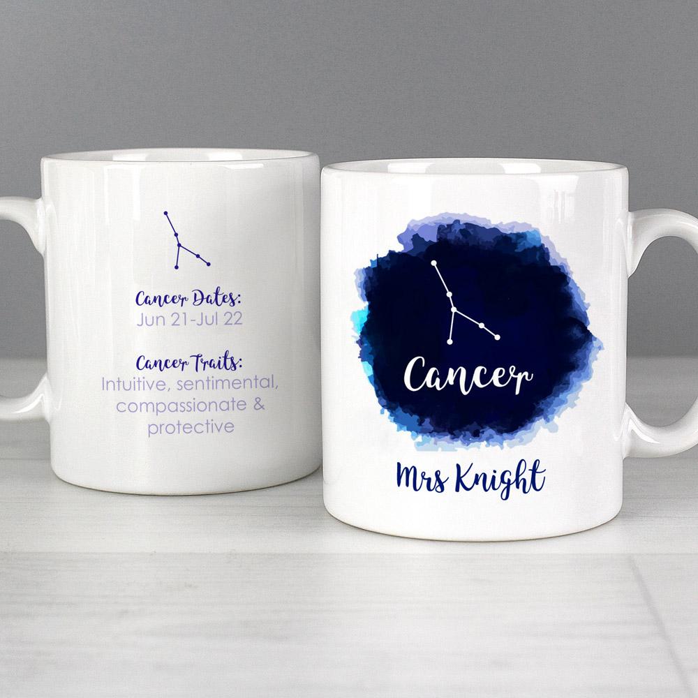 Cancer Zodiac Star Sign Mug (June 21st - July 22nd)