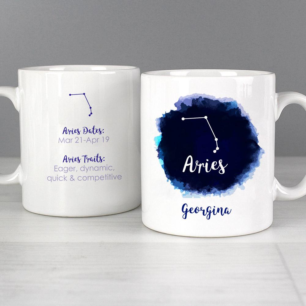 Aries Zodiac Star Sign Mug (March 20th-April 19th)