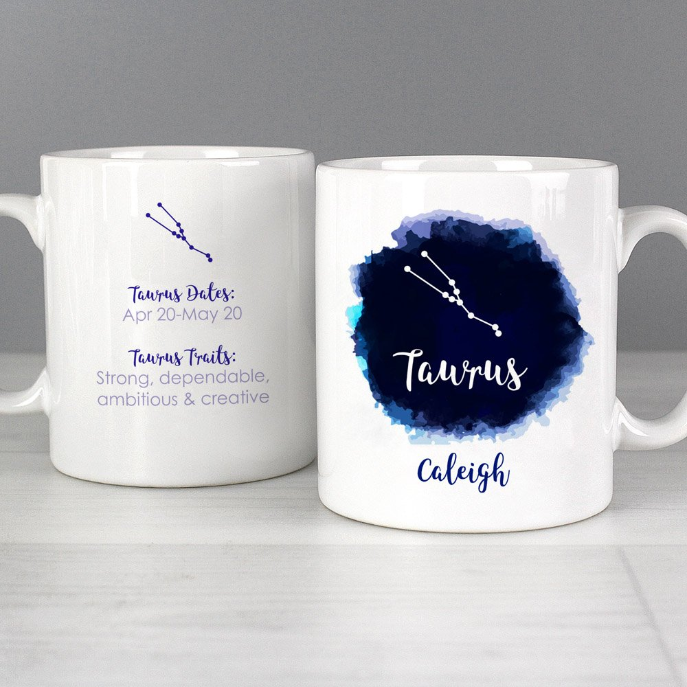 Taurus Zodiac Star Sign Mug (April 20th - May 20th)