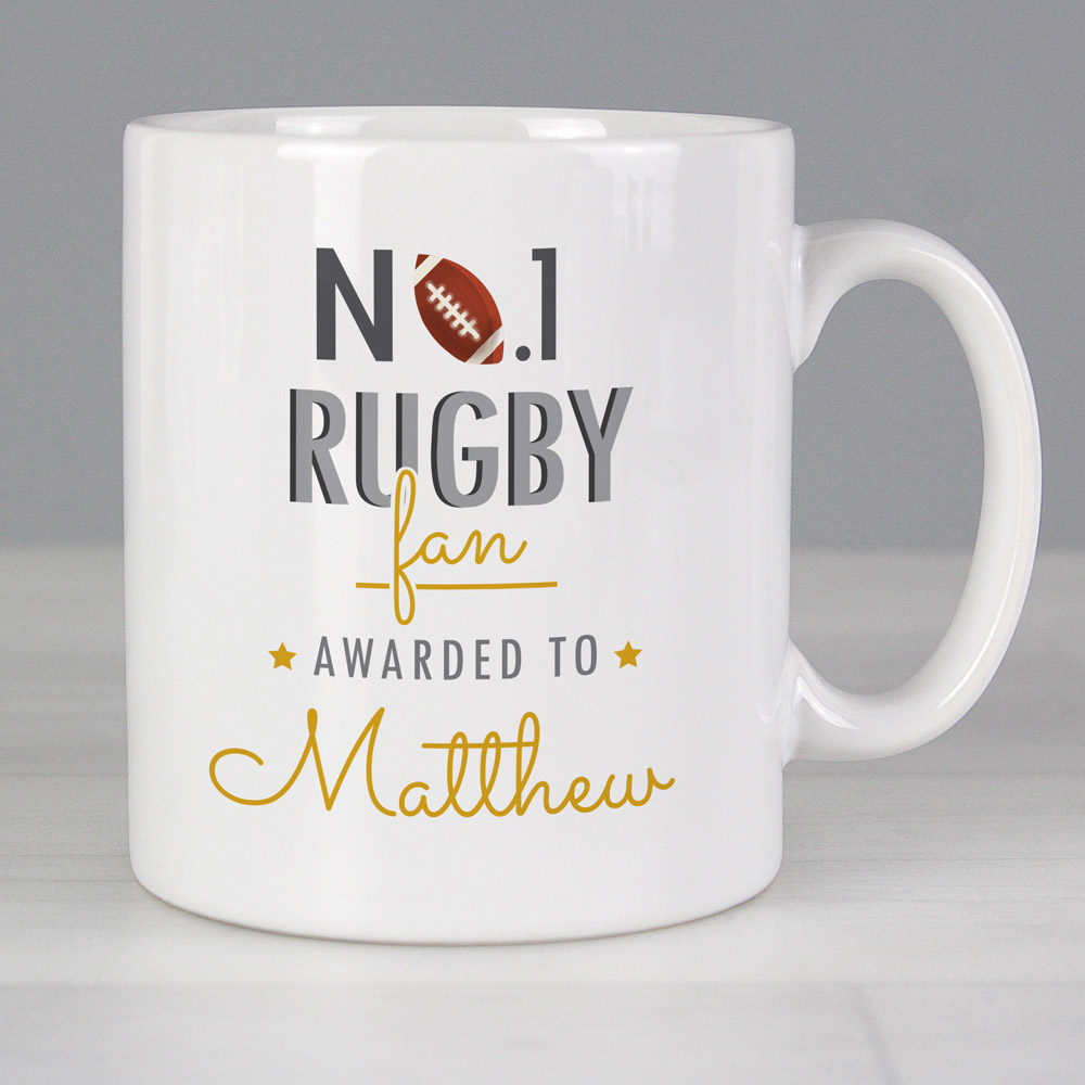 No.1 Rugby Fan Mug