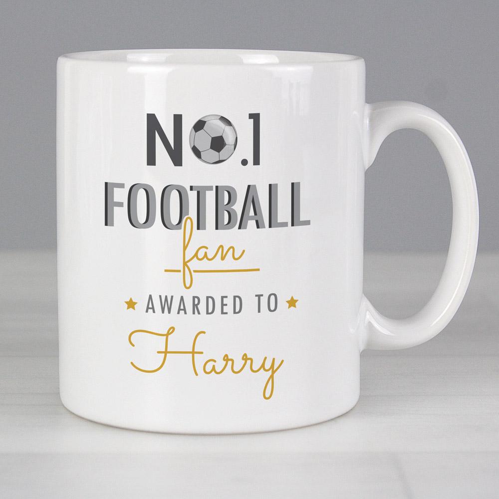 No.1 Football Fan Mug